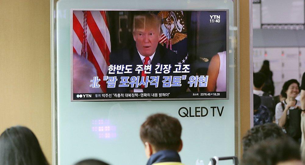 俄专家:美国正促使首尔和东京做出核武选项
