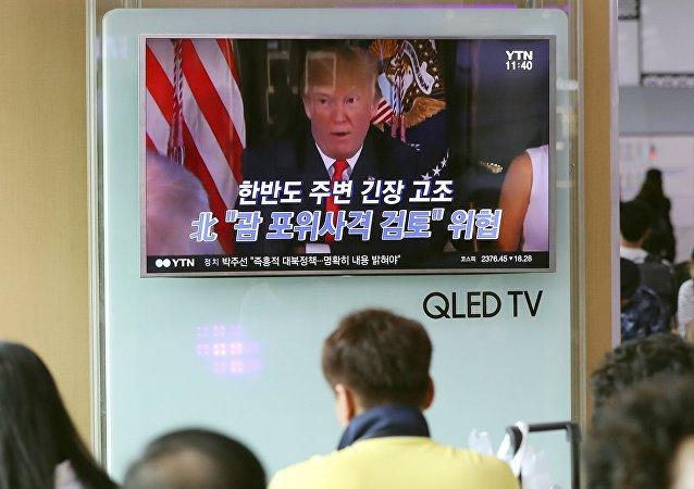 韓國希望美朝開展建設性對話