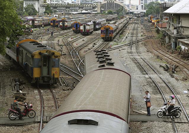 前三季度中俄珲春铁路口岸货物量同比增长近70%
