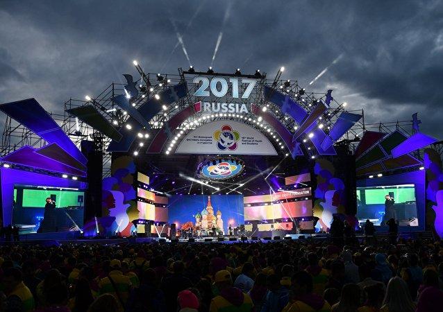 索契国际大学生联欢节开幕式