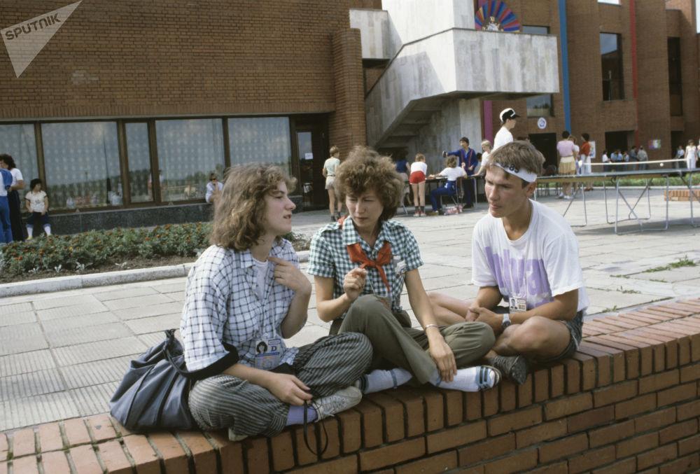 第十二届世界青年与大学生节,莫斯科,1985年