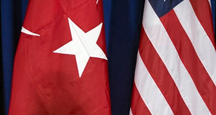土耳其與美國國旗
