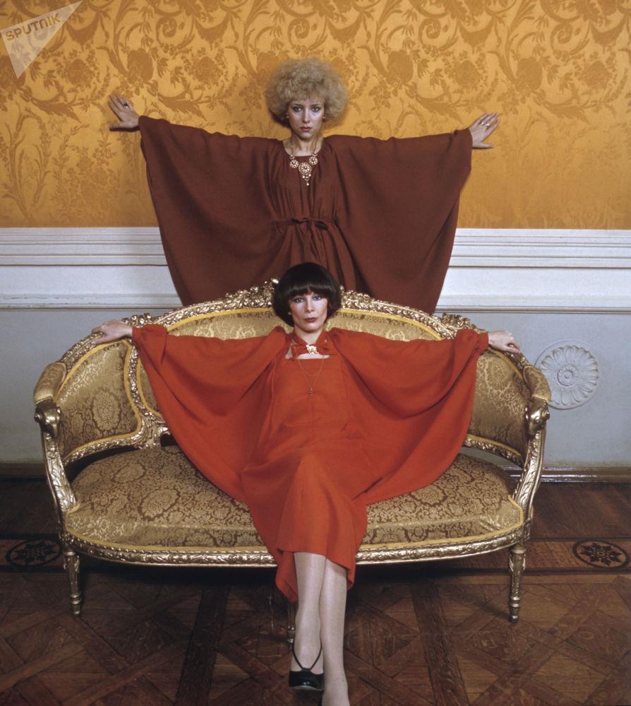 女模特,1978年