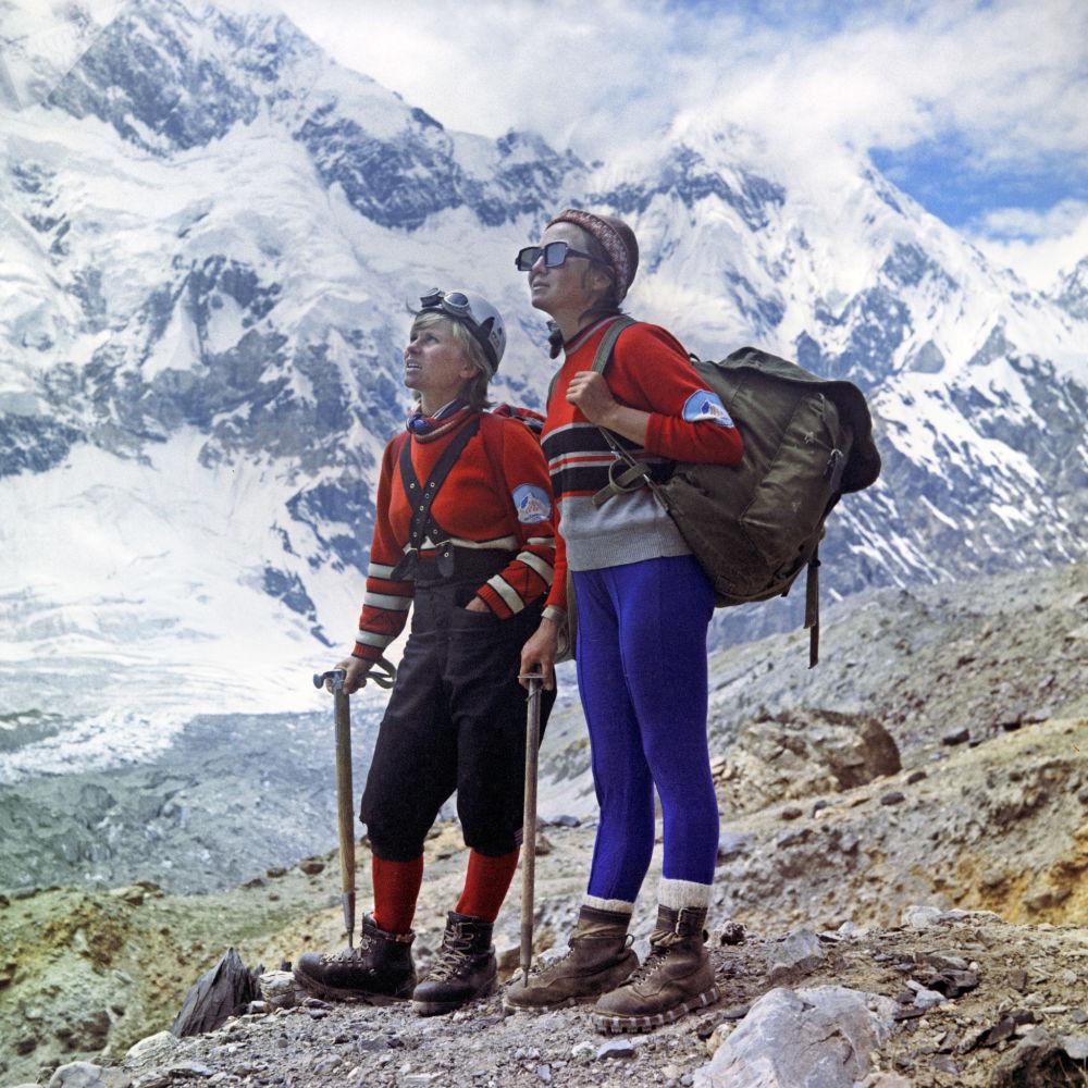 帕米尔高原登山者,1972年