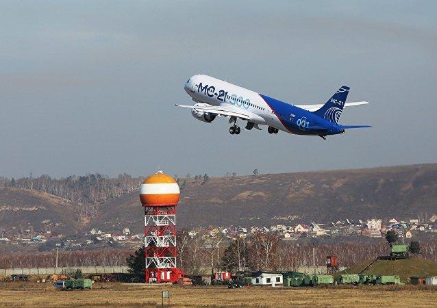 俄罗斯MS-21大型客机