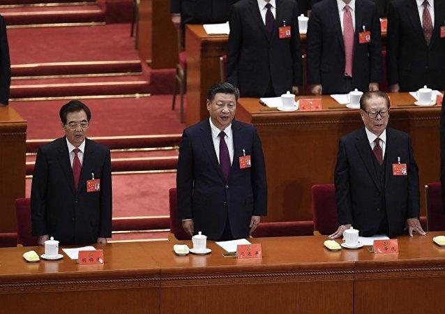 中國共產黨中央委員會總書記習近平18日在中國共產黨第十九次全國代表大會作報告