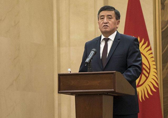 吉爾吉斯斯坦總統熱恩別科夫