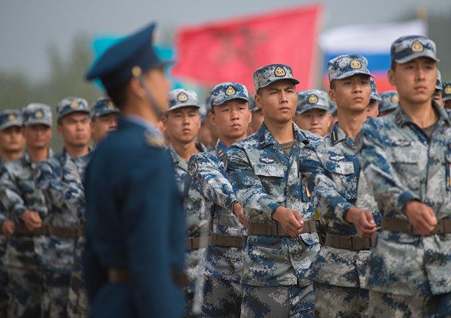 中国官兵对全面建成世界一流军队充满信心