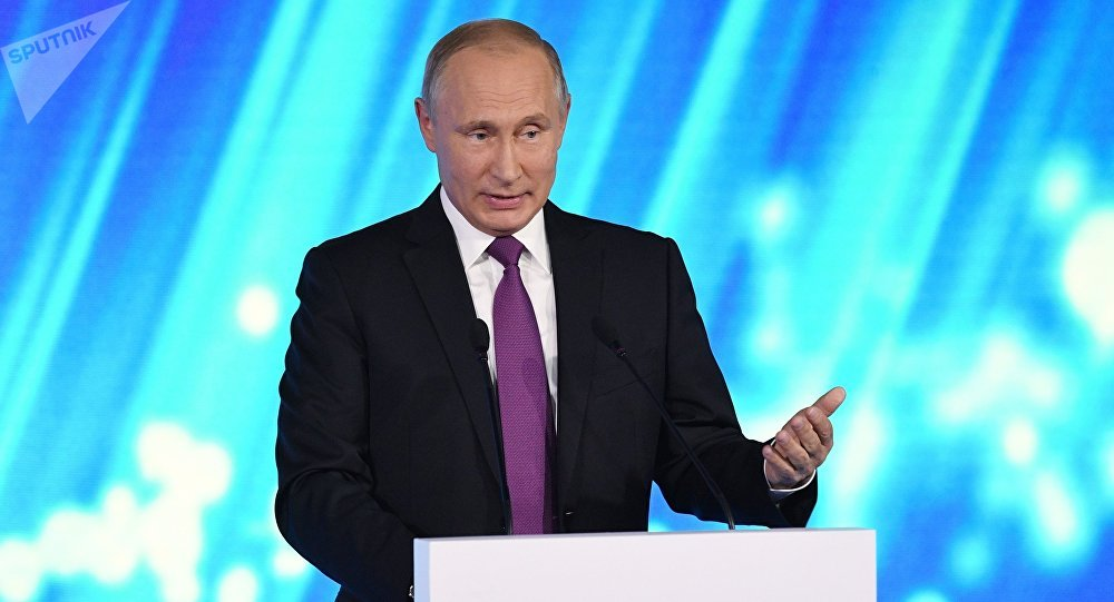 """普京在""""瓦尔代""""俱乐部会议上的发言。直播。"""