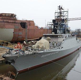 俄为叙沿岸附近分舰队补充最新小型导弹舰