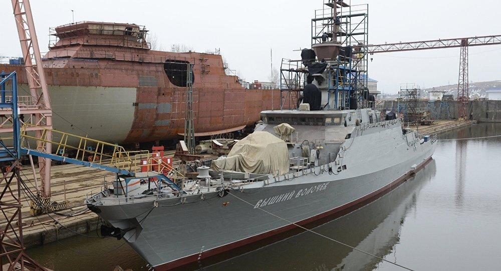 """""""上沃洛乔克""""号小型导弹舰"""