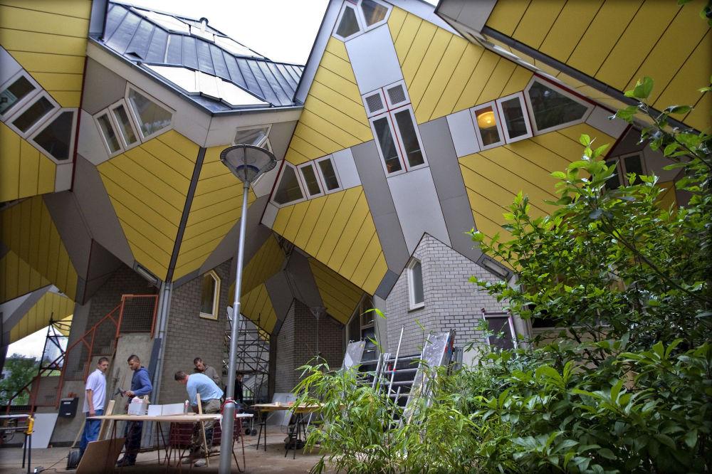 在荷兰鹿特丹的好住旅館(Stayokay Hostel)