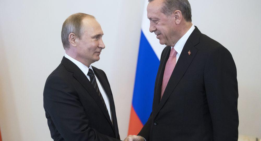 俄羅斯總統普京和土耳其總統埃爾多安(圖片資料)