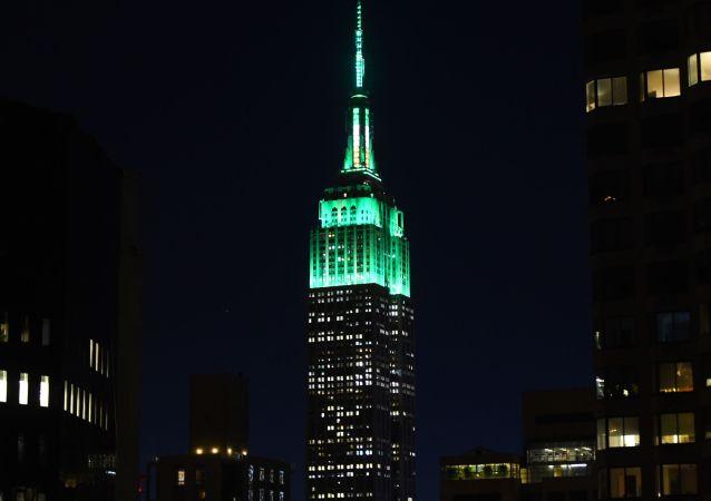 纽约摩天大楼帝国大厦