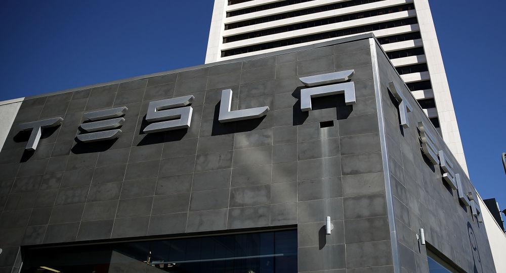Сервисный центр компании Tesla в Лос-Анжелесе