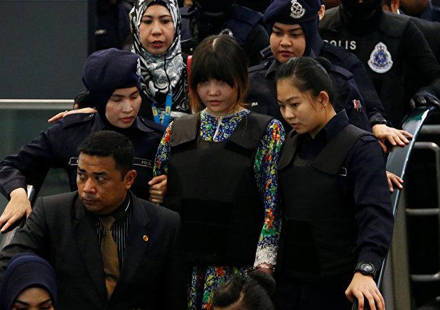媒體:金正男遇刺案下判兩名女被告面對裁決