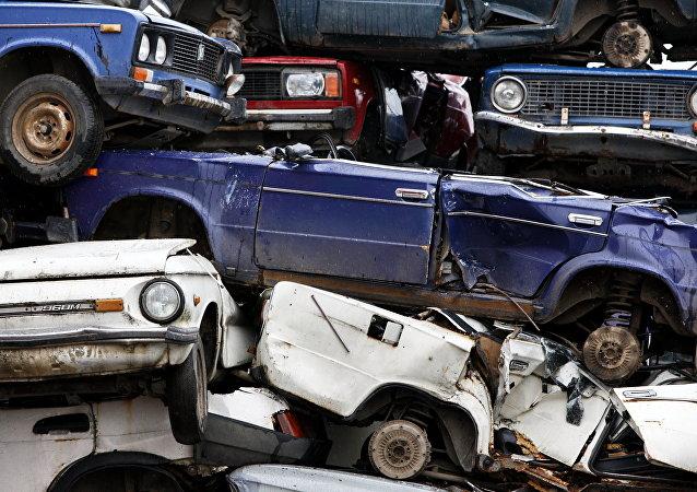 汽车回收厂