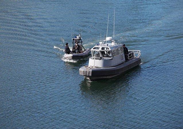俄联邦近卫军将创建海上旅保障刻赤海峡运输安全