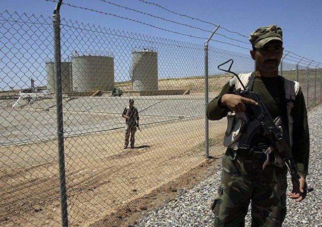 媒体:库尔德人击落一架伊拉克民兵侦察机