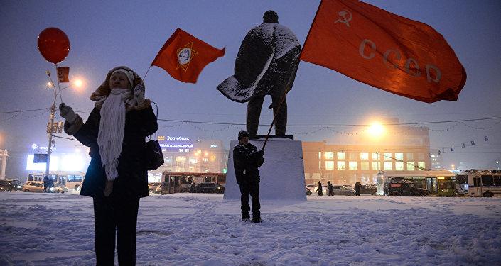 新西伯利亚的列宁广场