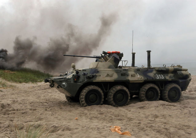 俄罗斯每年出口数百辆BTR-82A