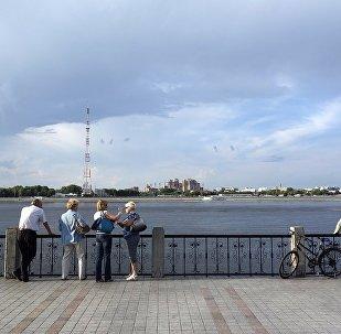 俄布拉戈维申斯克与黑河间开通气垫船客运