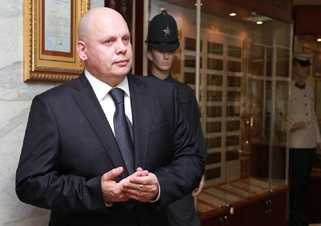 内务部副部长马霍诺夫