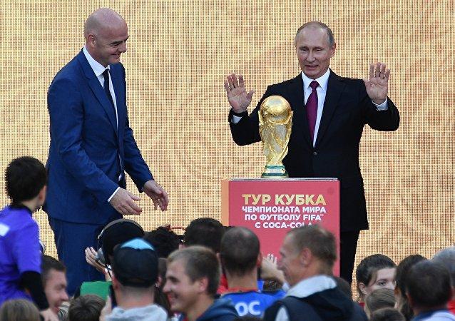 普京指示要在明年4月30日前确定2018年足球世界杯后各相关设施的使用问题