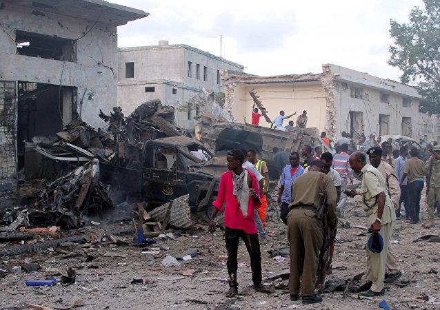 索马里首都酒店发生袭击