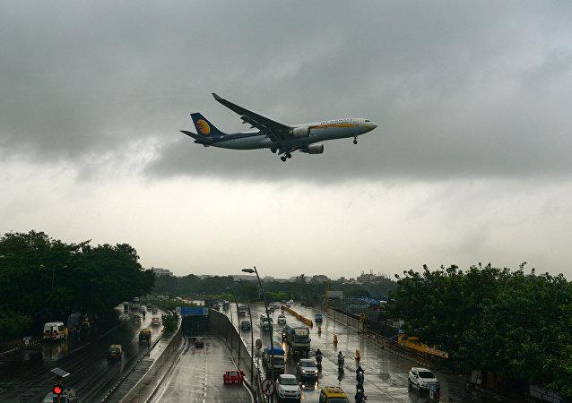 印度捷特航空(Jet Airways)的飞机