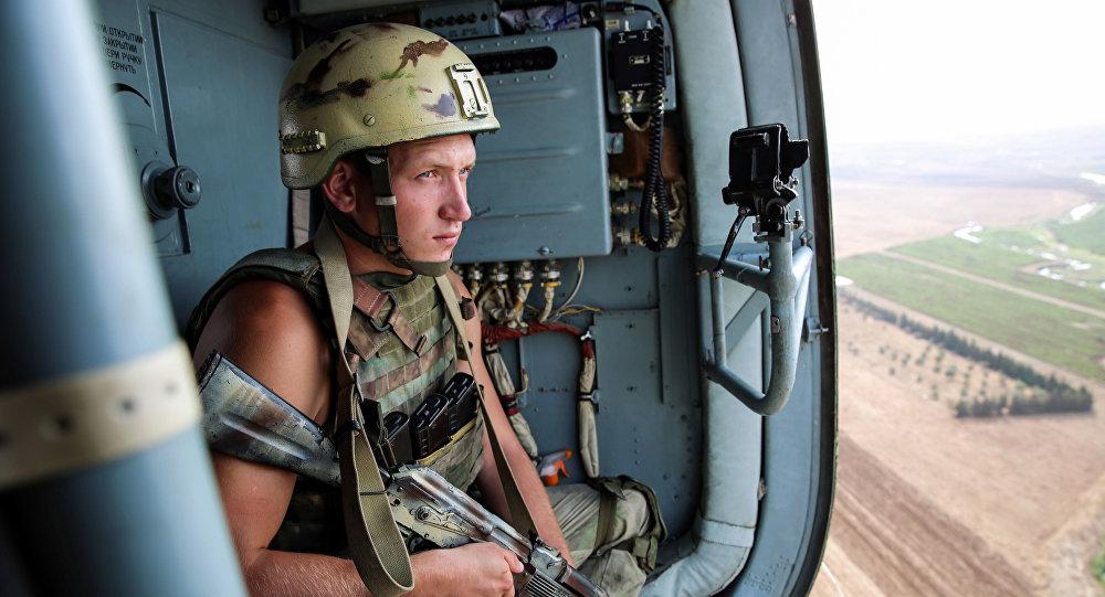 俄在叙军队人员