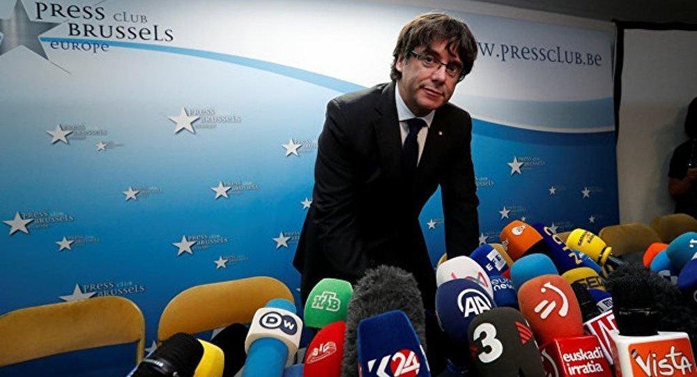 西班牙加区前主席普伊格蒙特否认有意在比利时申请政治庇护