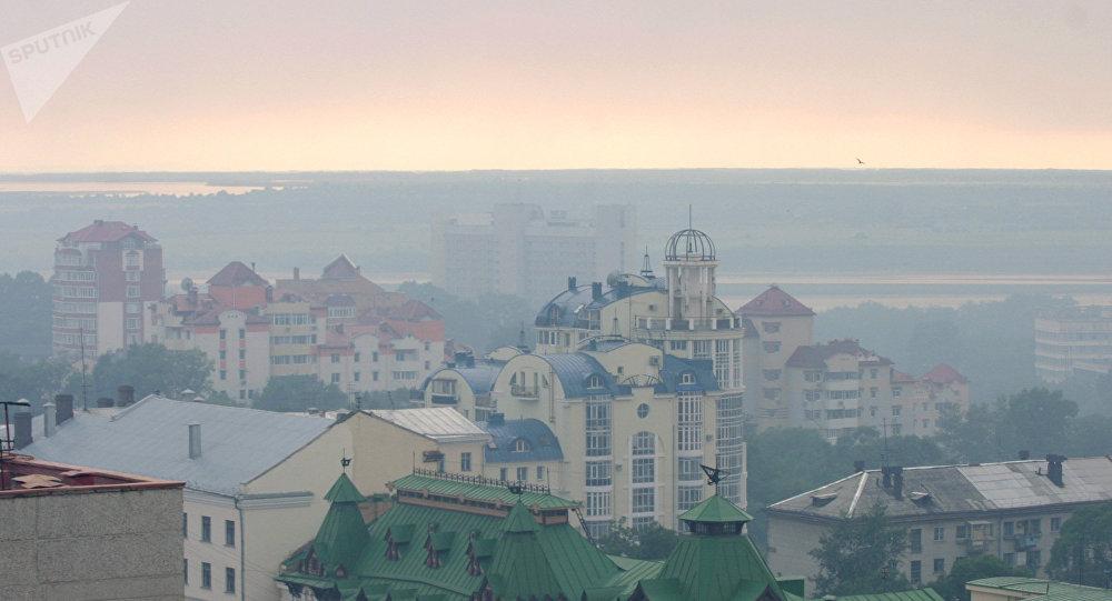 哈巴罗夫斯克烟雾
