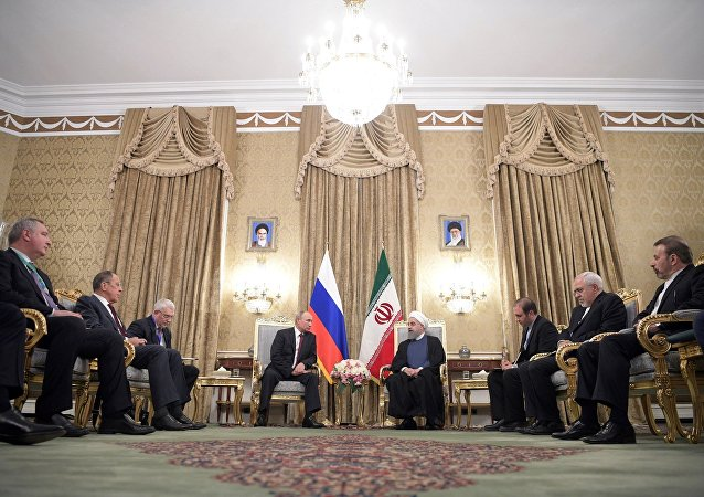 俄羅斯總統會見伊朗總統(資料圖片)