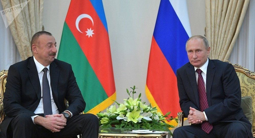 普京就阿利耶夫再次被選為阿塞拜疆總統向其表示祝賀