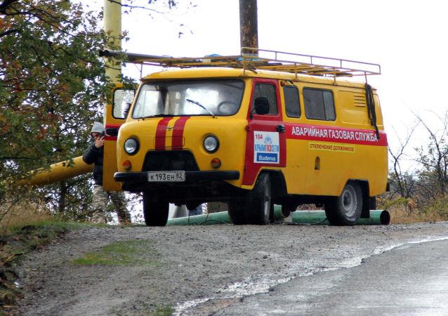 俄克里米亚在遭疑似破坏活动后加强对天然气运输系统的保卫