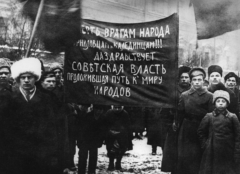 工人和農民示威