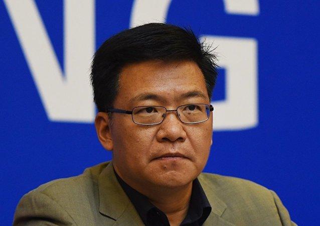 中共中聯部副部長、中共代表團團長郭業洲