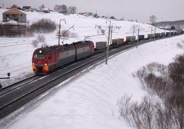 俄外贝加尔铁路货运量2017年增长2.8%
