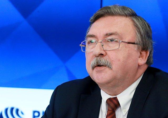 俄外交官:對伊朗實施石油禁運毫無理由