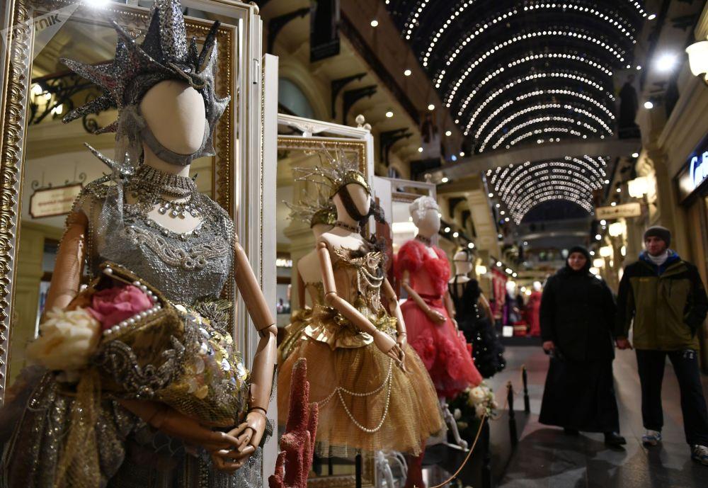 「瑪蒂爾達·重塑時代」展覽在莫斯科「古姆」國立百貨商場開幕。