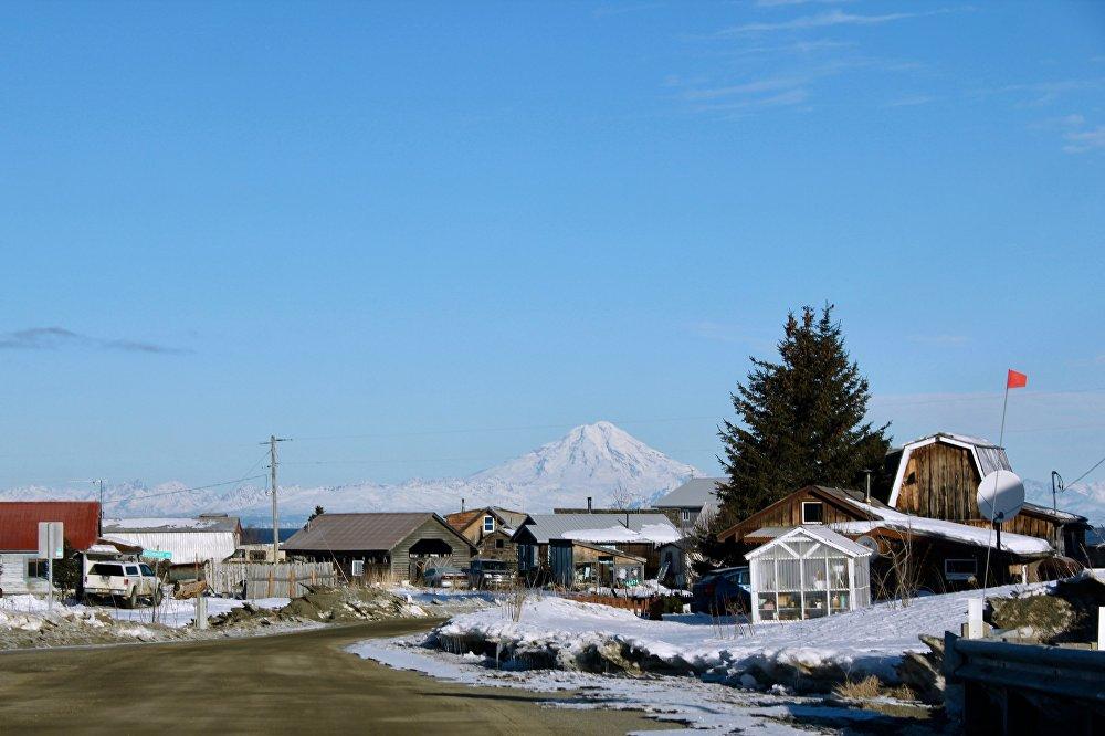 首批俄罗斯居民后裔在阿拉斯加的居住小镇