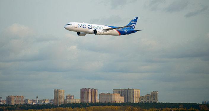 第二架MC-21-300飞机加入飞行试验计划