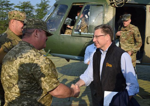 美國國務院烏克蘭事務特別代表科特·沃克爾