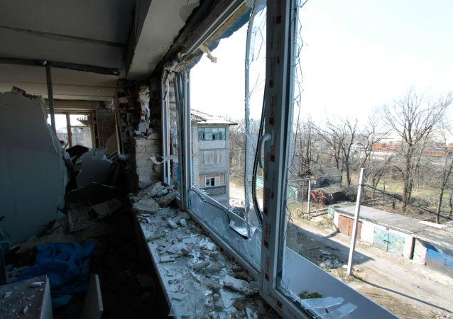烏克蘭軍方:一晝夜內頓巴斯開火28次