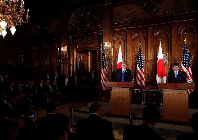 特朗普总统对日本的访问