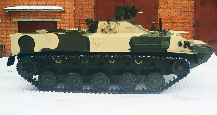 RHM-5M防化侦察车
