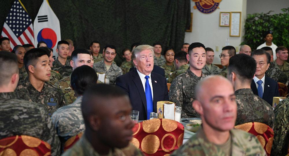 韓國敦促美國盡快移交軍事指揮權