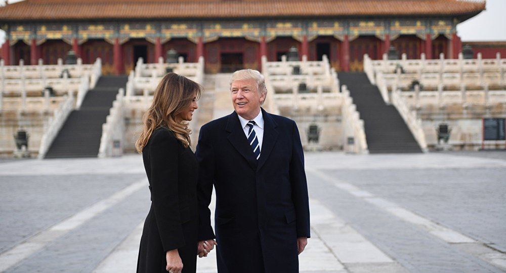 俄媒:特朗普执政一年多次威胁中国,但却未能赢下北京