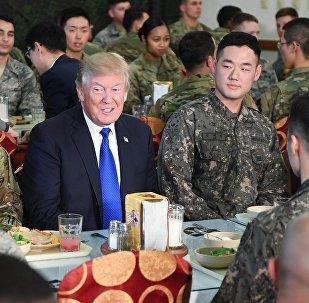 特朗普利用日韩挑起亚洲军备竞赛